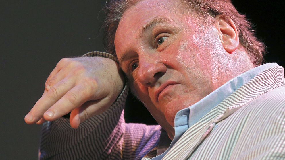 "Depardieu regresa al teatro, aunque le ""aburre"""