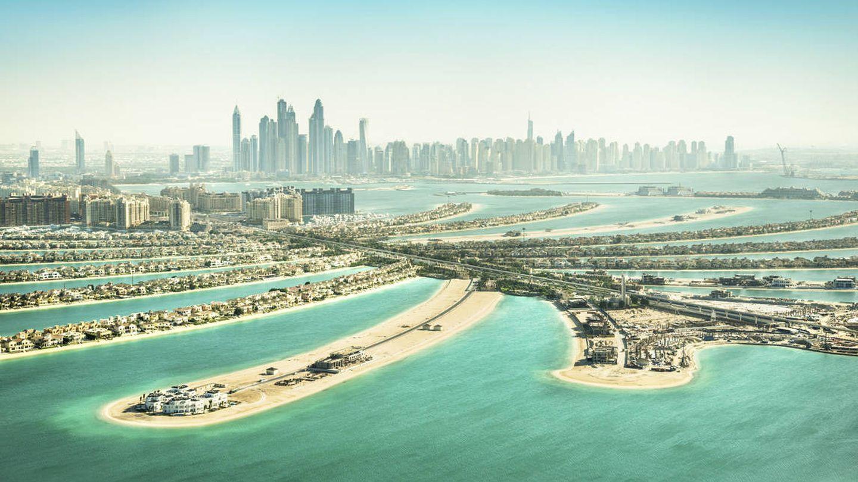 Palm Jumeirah, la isla artificial más grande del mundo hasta el momento. (CC)