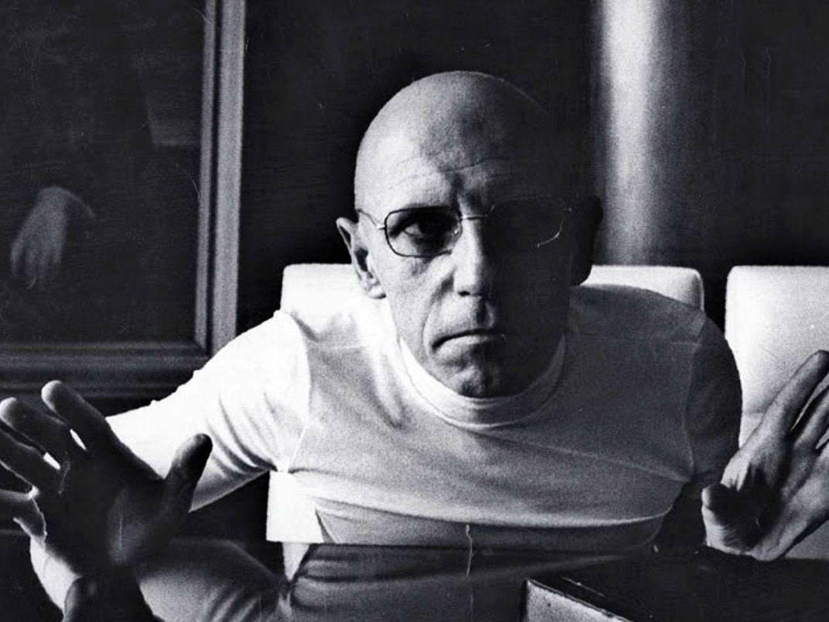 Foto: Michel Foucault.