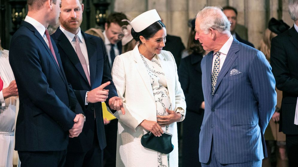 Foto: El príncipe Carlos y Meghan Markle en una imagen reciente. (Reuters)
