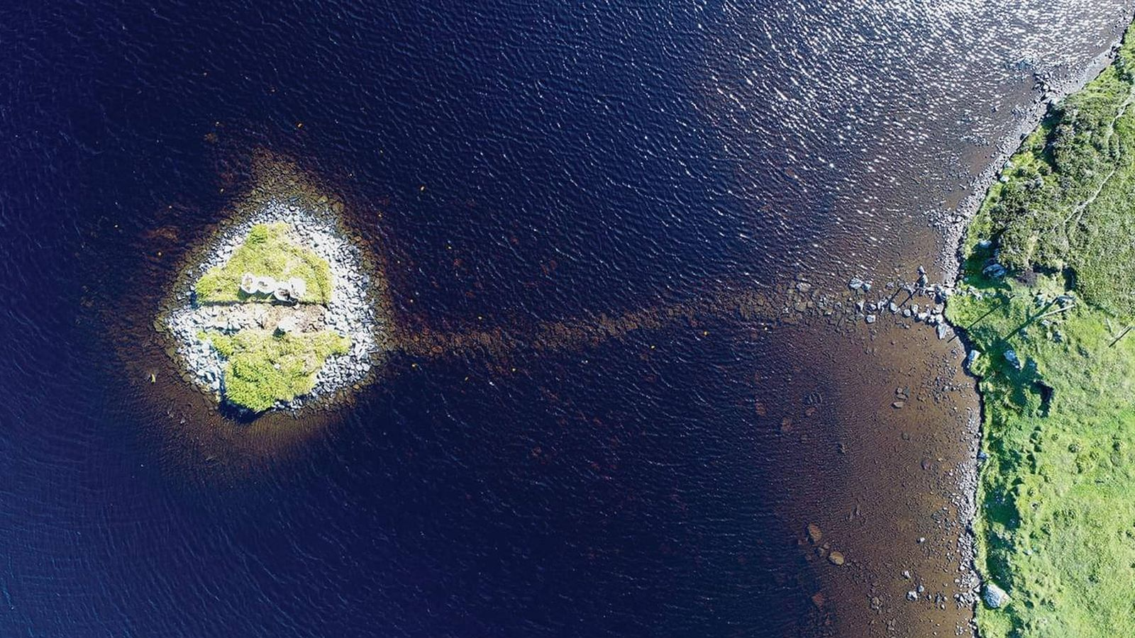 Foto: Las islas fueron construidas artificialmente por el hombre, posiblemente hace 5.500 años (Foto: Antiquity)