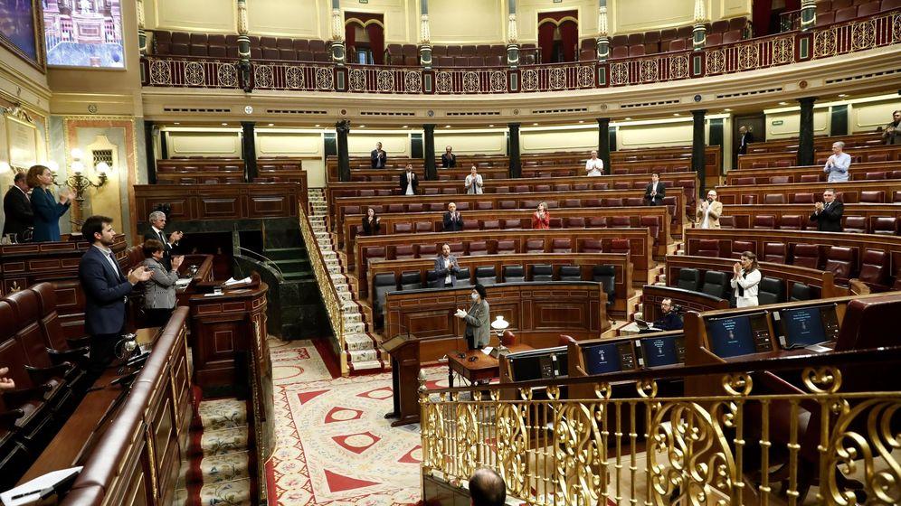 Foto: El Congreso de los Diputados, en su última sesión. (EFE)