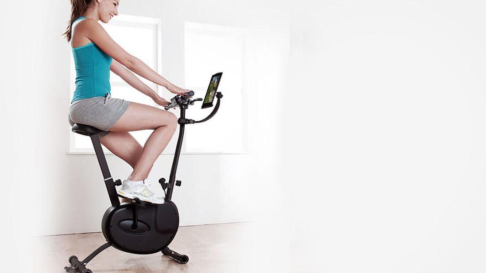 Pierde peso jugando con tu móvil y esta bici estática española