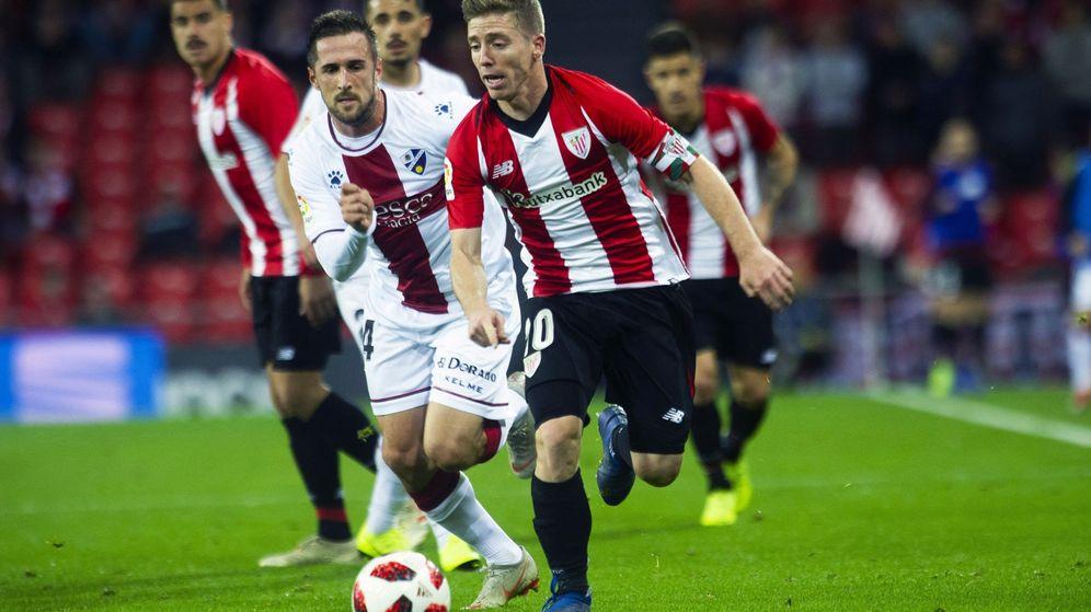 Foto: El Athletic ganó este miércoles al Huesca en partido aplazado de Copa del Rey. Es solo su segunda victoria de la temporada. (EFE)