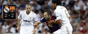 Foto: Guardiola sigue sin perder en el Bernabéu pese al agresivo planteamiento de Mourinho