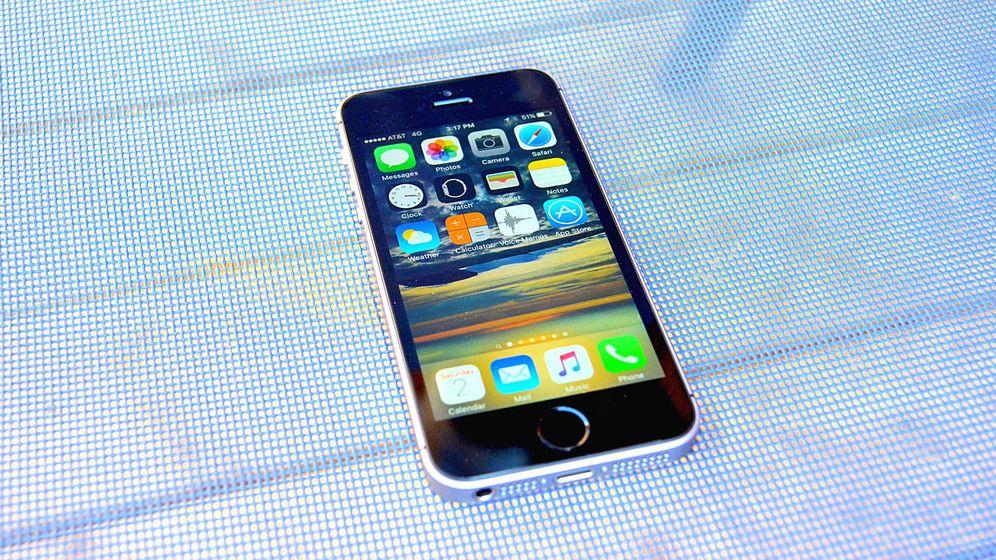 Foto: El nuevo iPhone SE. (Foto: P.O.)