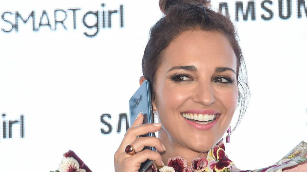 Foto: Paula Echevarría durante un acto de promoción. (Gtres)