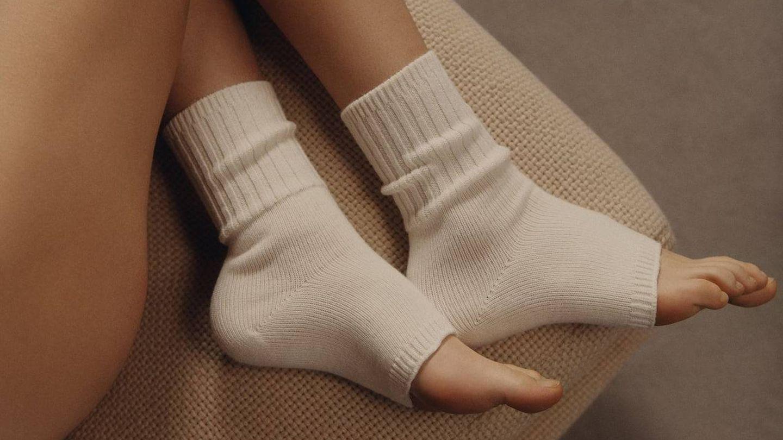 Calcetines de Zara. (Cortesía)