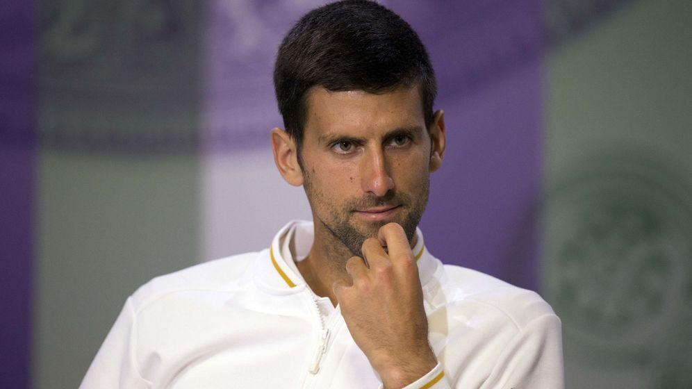 Foto: El tenista serbio Novak Djokovic (Reuters)