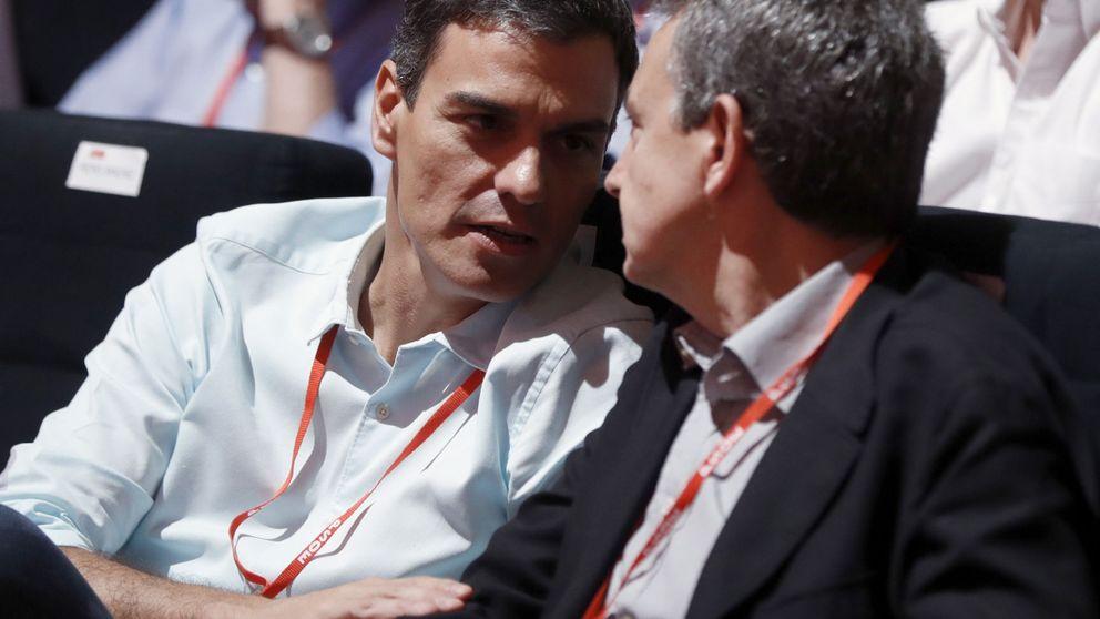 Zapatero participa en el acto central del PSC con Sánchez, Iceta y Borrell