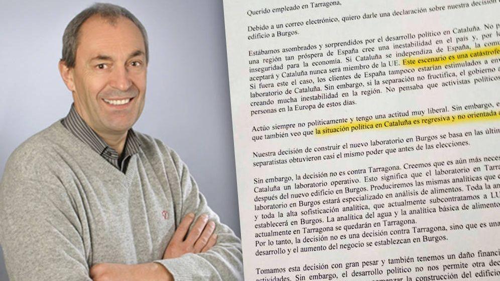 Foto: Paul Wimmer, CEO de Agrolab Group, ha enviado una carta a sus empleados. (Montaje: Enrique Villarino)