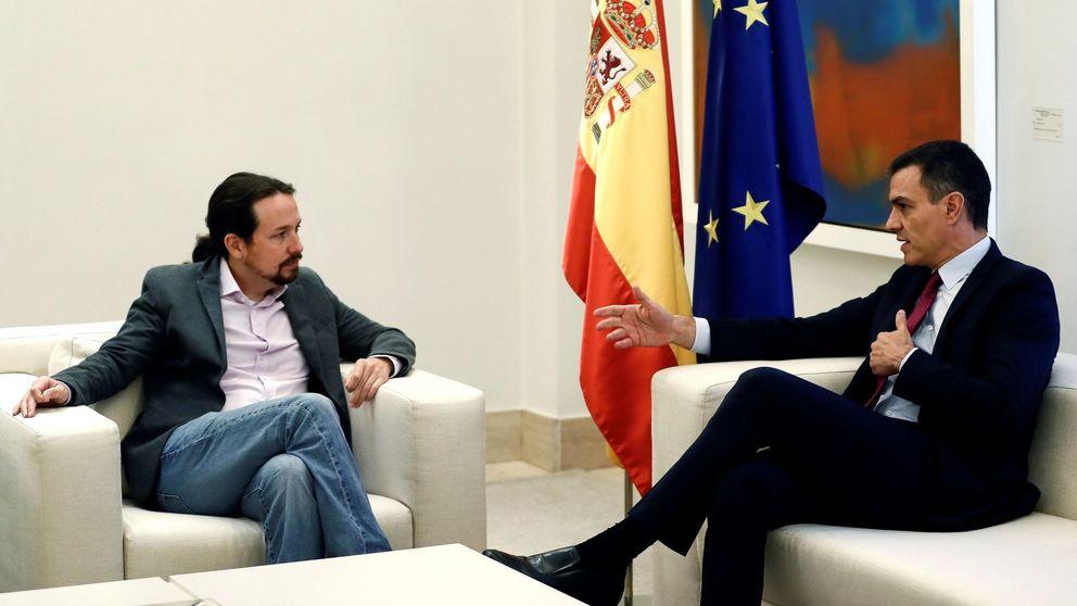 Iglesias pide a Sánchez apostar por el diálogo en Cataluña y descarta un 155