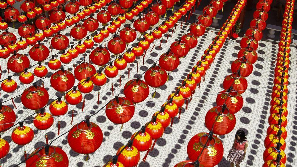 Foto: Farolillos rojos para celebrar el Año Nuevo chino, en una imagen de archivo (EFE)