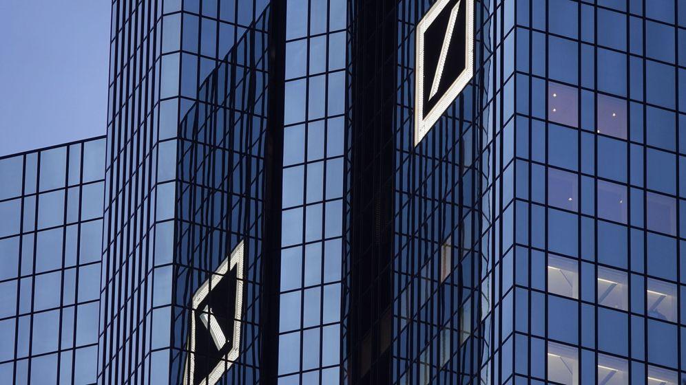 Foto: Vista de los edificios de Deutsche Bank en Frankfurt, Alemania. (EFE)