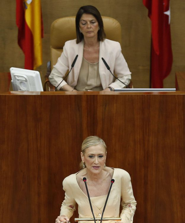 Foto: La candidata del PP a la Presidencia de la Comunidad de Madrid, Cristina Cifuentes. (EFE)