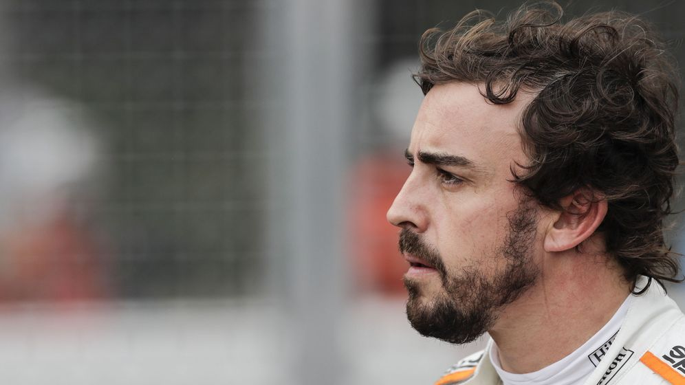 Foto: Fernando Alonso, en Mónaco. (EFE)