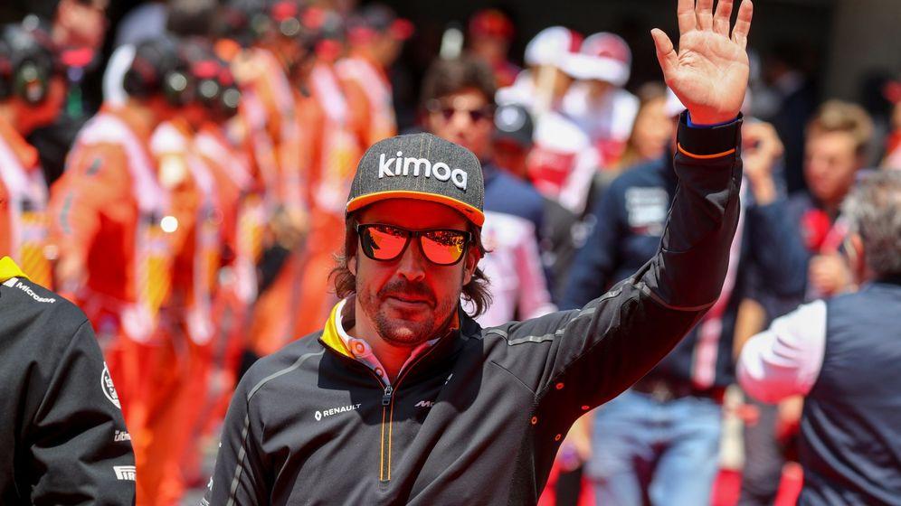 Foto: Fernando Alonso no correrá en Fórmula 1 en 2019. (EFE)