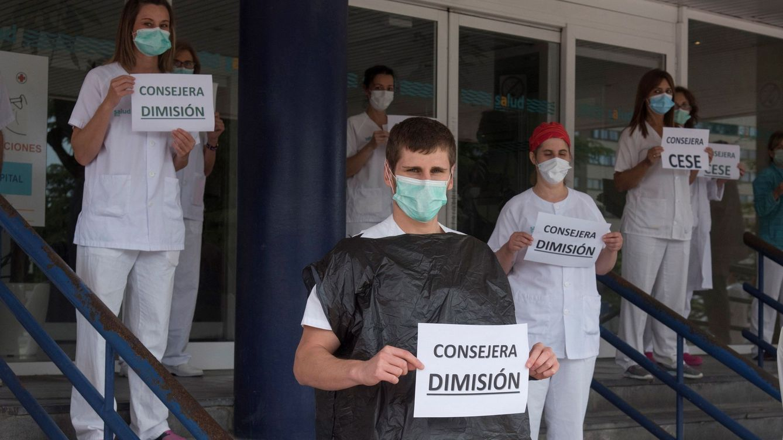 Dimite la consejera de Sanidad de Aragón tras su polémica con los sanitarios