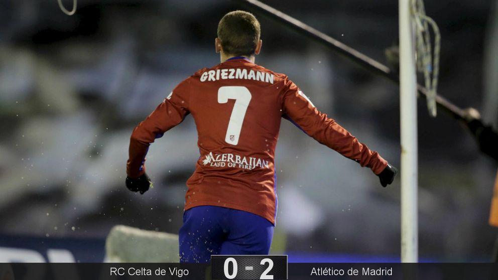 Griezmann vuelve a ser el líder del Atlético en una gran victoria en Vigo