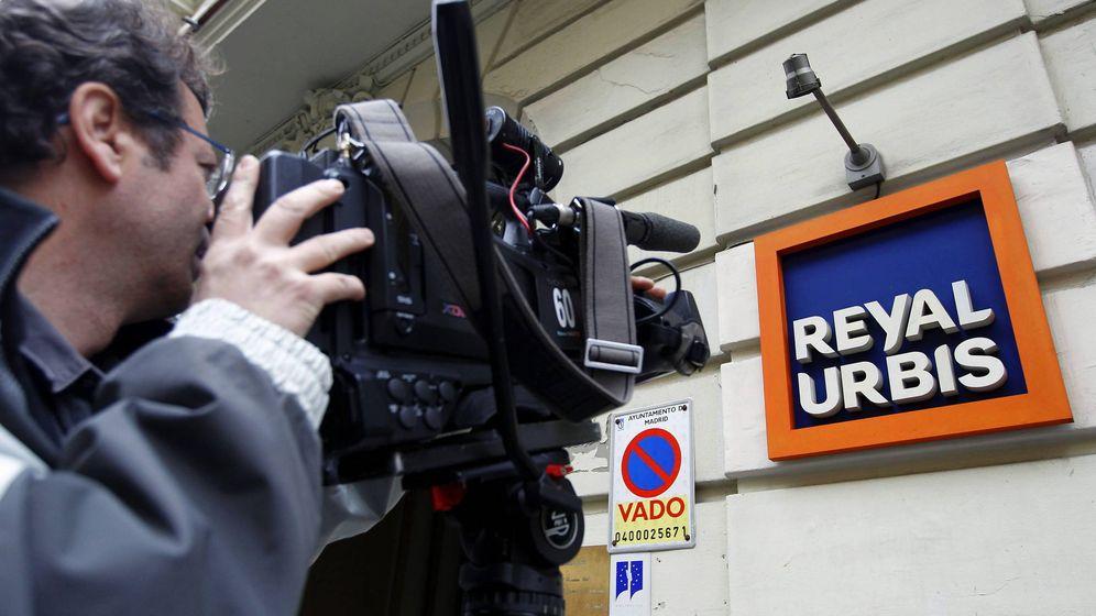 Foto: Exterior de la sede de Reyal Urbis en Madrid, en una imagen de archivo (EFE)