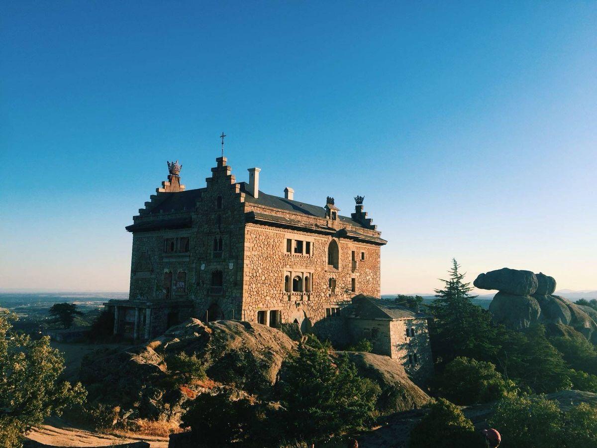 Foto: Imagen del palacio del Canto del Pico.