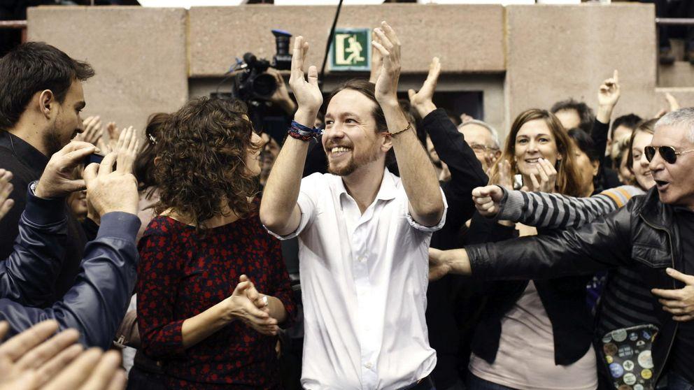 La cúpula de Podemos se vuelca para apoyar una lista en Cataluña