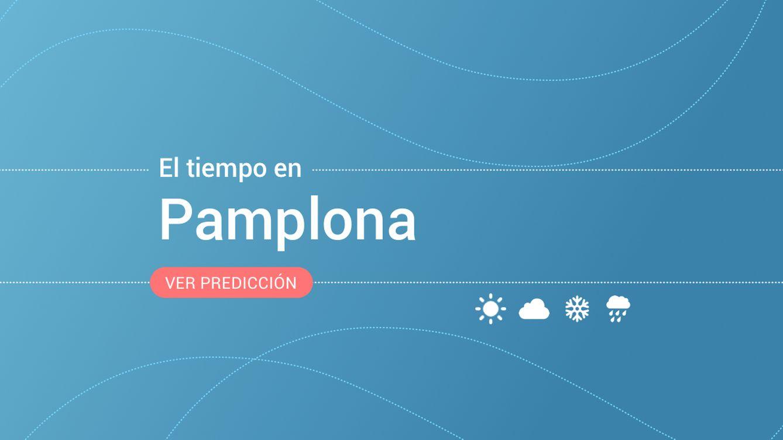 Previsión meteorológica en Pamplona: alerta amarilla por nevadas