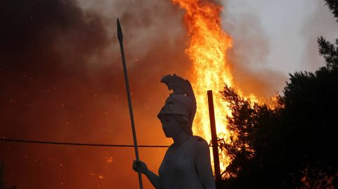 Verano del terror en Grecia: primera víctima de los incendios que arrasan el país