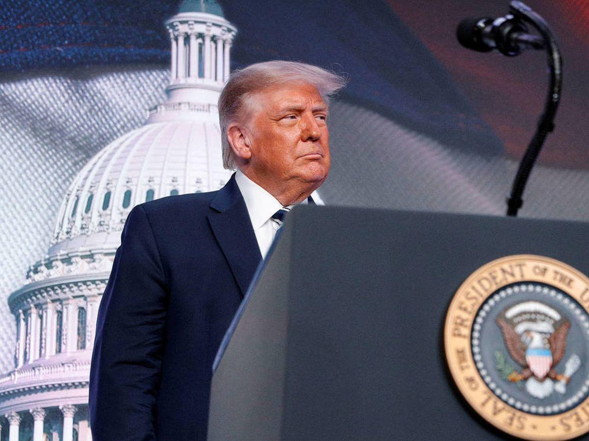 Foto: El actual presidente de Estados Unidos, Donald Trump. (EFE)