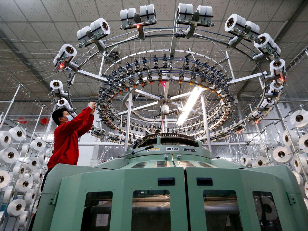 Foto: Fábrica en China