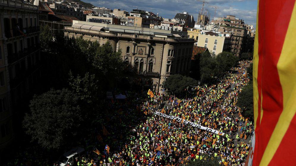 Foto: Imagen de la última Diada en Barcelona. (Reuters)