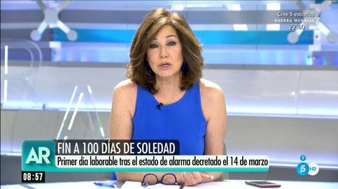 La advertencia de Ana Rosa Quintana tras el final del estado de alarma