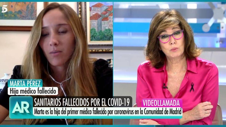 Marta Pérez y Ana Rosa, en 'El programa de AR'. (Telecinco)