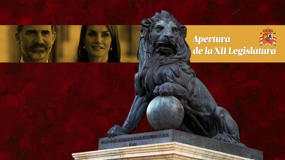 Directo - Leonor y Sofía en la Apertura Solemne de la XII Legislatura