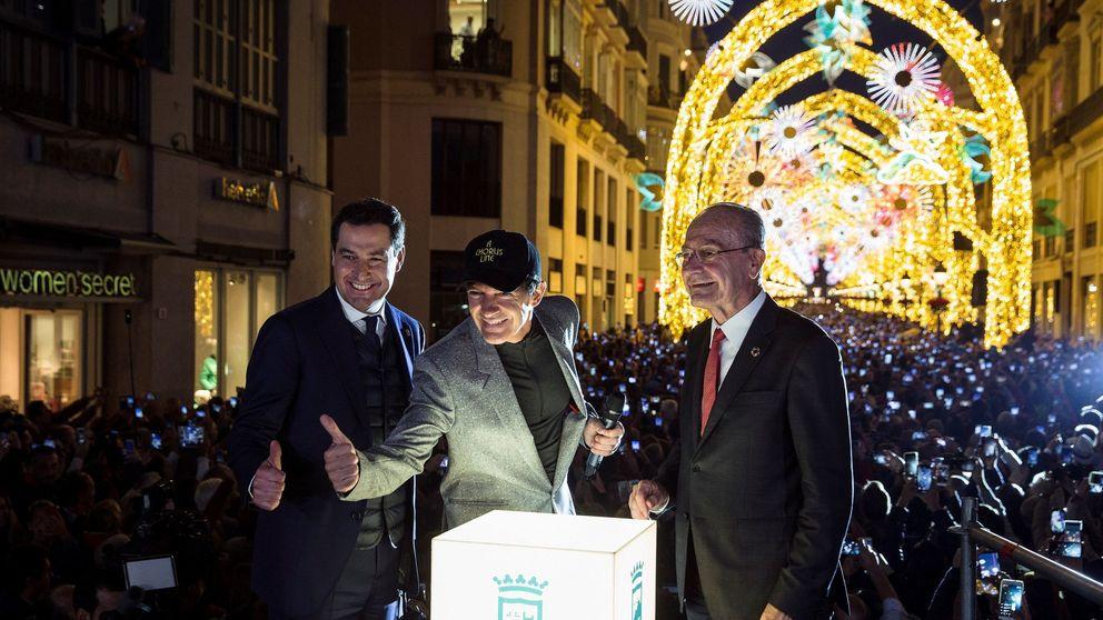Málaga quiere alejar la Navidad del centro para evitar los atascos kilométricos