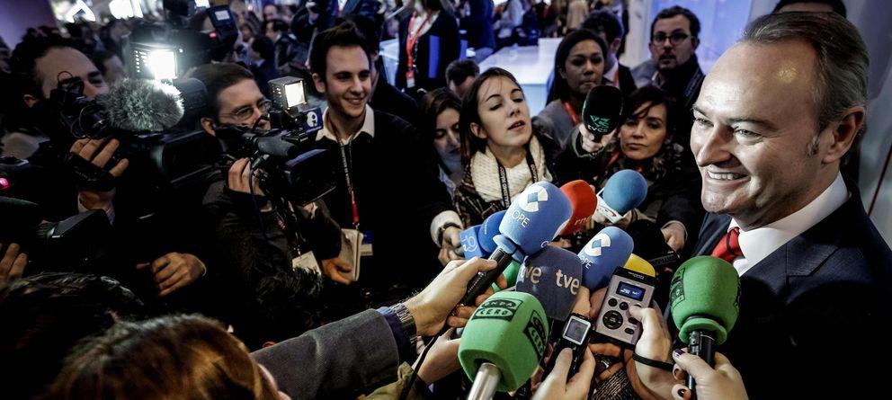 Foto: Alberto Fabra, el Día de la Comunitat Valenciana. (Efe)