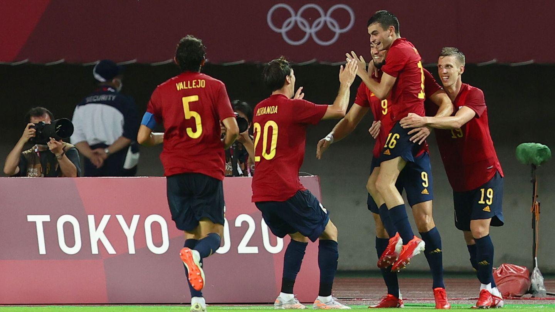 Rafa Mir marcó el agónico tanto del empate. (Reuters)