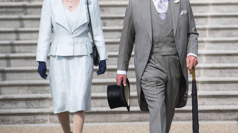 El príncipe Carlos y la princesa Ana. (Getty)