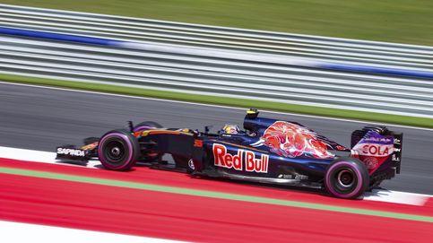 Sainz da un puñetazo en la mesa de Red Bull pese a los fallos de Toro Rosso