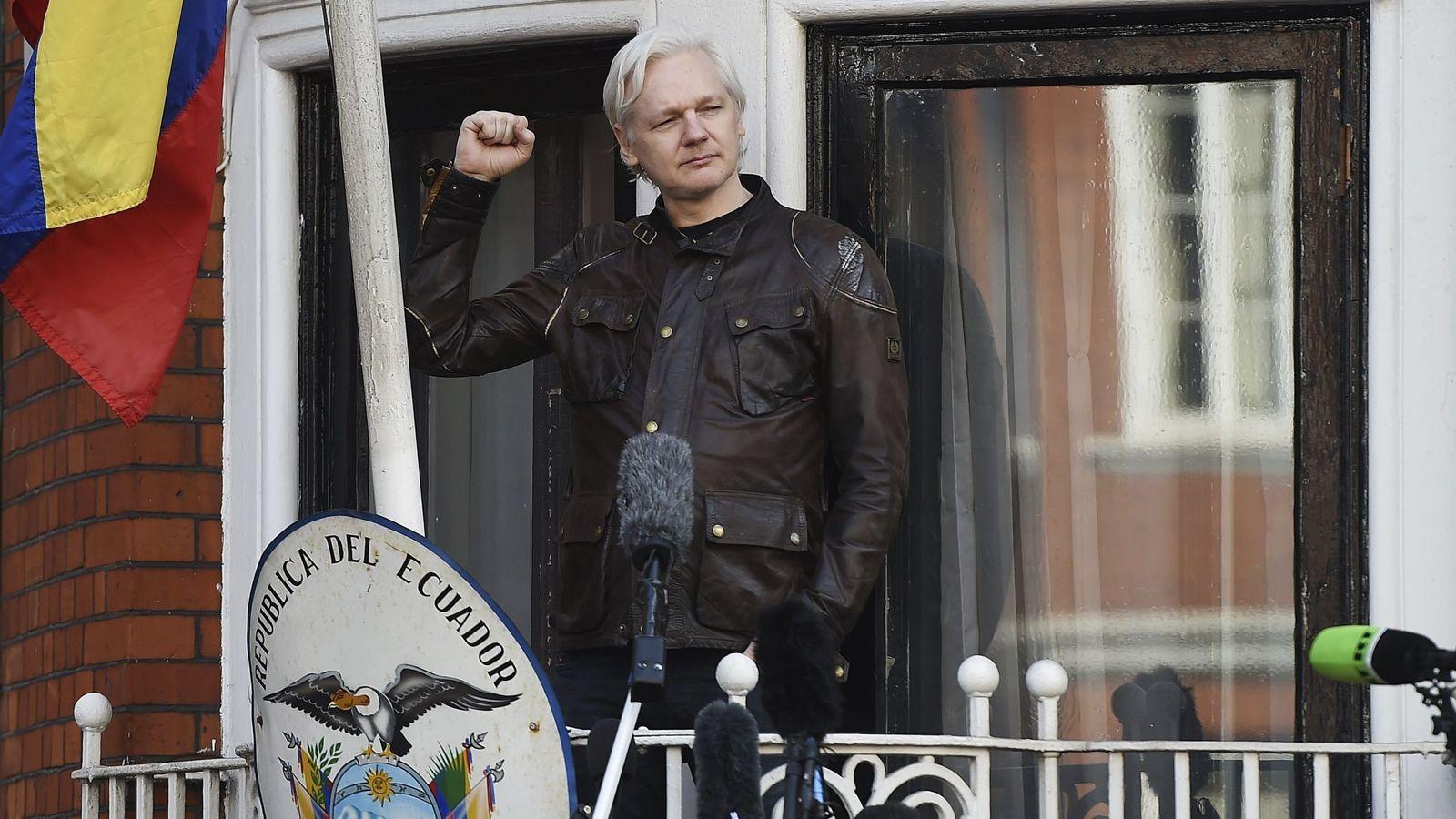 Foto: El fundador de WikiLeaks, Julian Assange. (EFE)