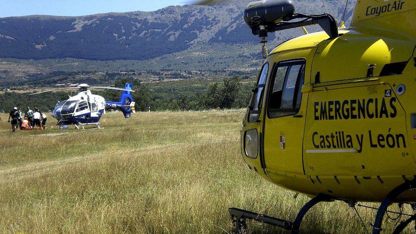 Foto: Los servicios del 112 de Castilla y León acudieron rápidamente a la llamada