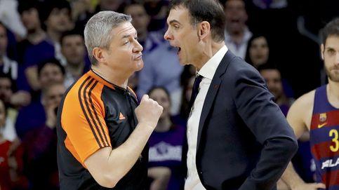 Un árbitro de la Euroliga, agredido en Atenas tras el Panathinaikos-Barcelona