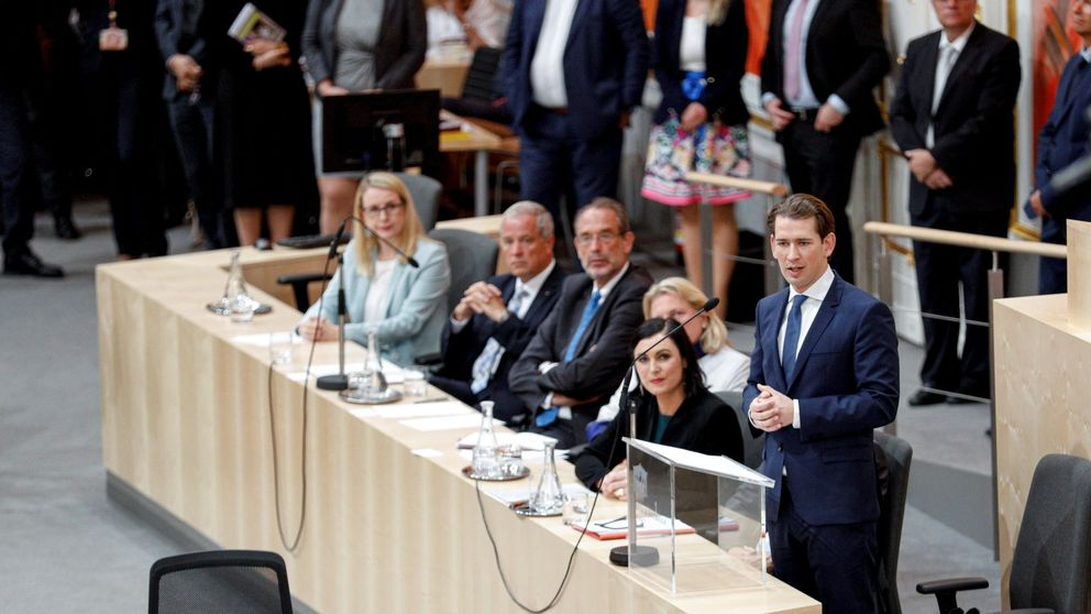 El caso Ibiza tumba al Gobierno austriaco del conservador Sebastian Kurz