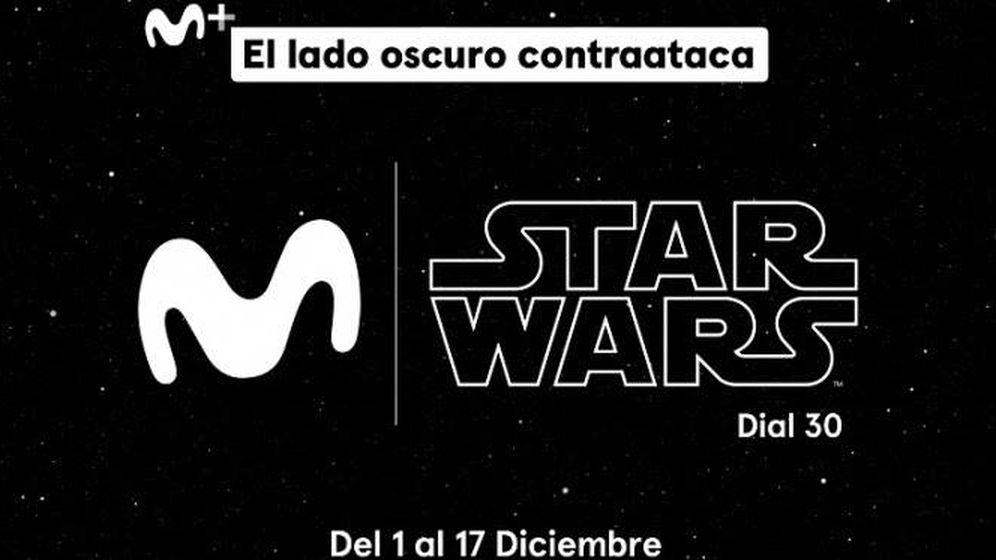 Foto: Movistar lanza un canal exclusivo de Star Wars.
