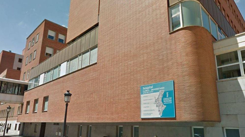 Foto: Hospital Clínico de València (Google Maps)
