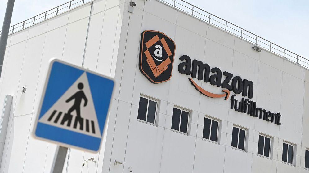 Foto: Almacén de Amazon en Madrid. (EFE)