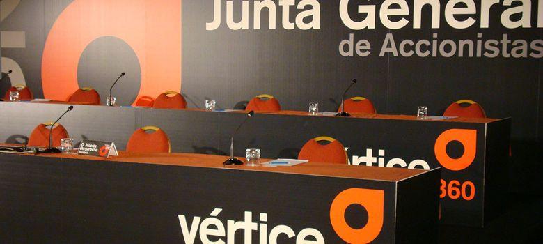 Foto: Imagen de la Junta General de Vértice