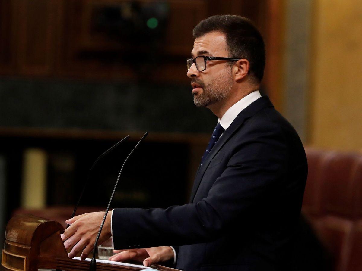 Foto:  El diputado de Ciudadanos por Sevilla, Pablo Cambronero. (EFE)