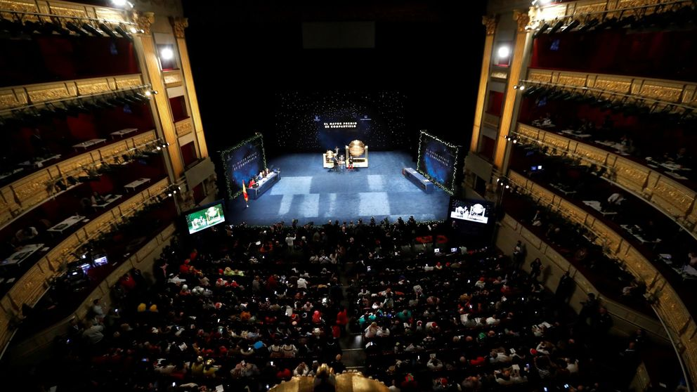 Así puedes asistir al sorteo de la Lotería de Navidad en el Teatro Real de Madrid