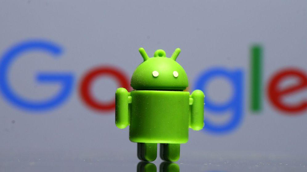 Foto: Logo de Android, el sistema operativo de Google. (Reuters)